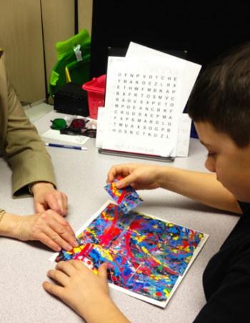 puzzle art pic